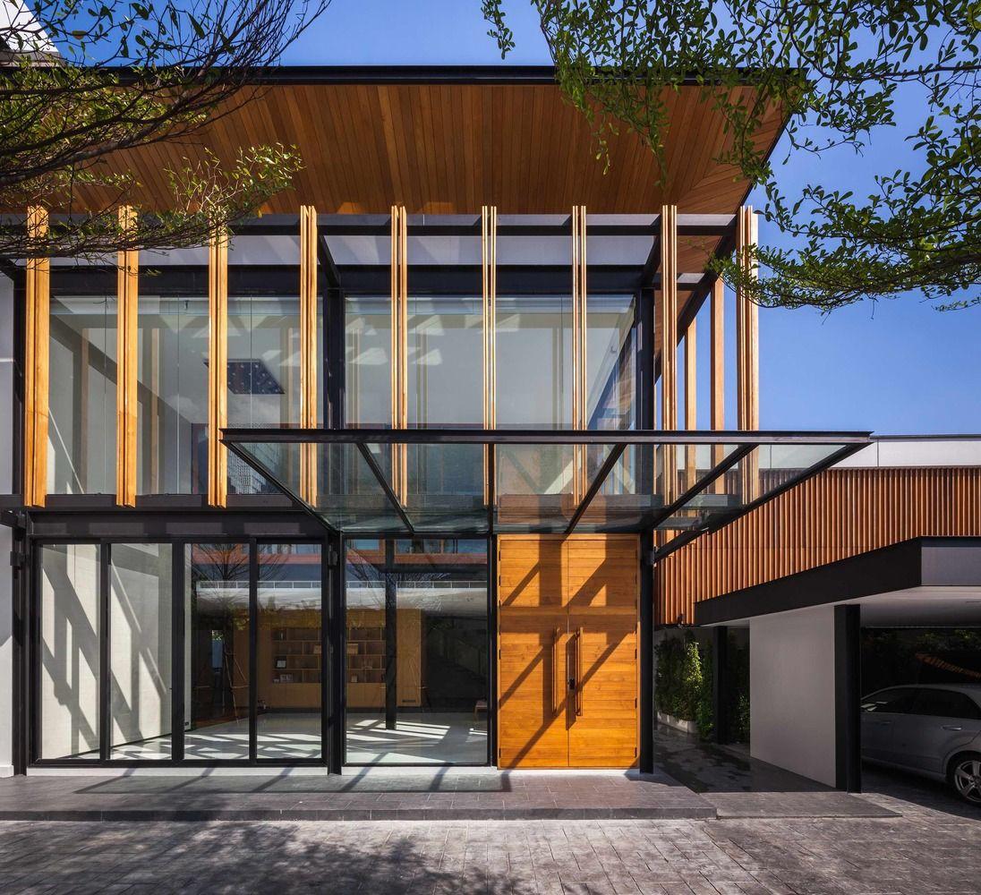 LADPRAO-80-House-04 | Moderne häuser und Häuschen