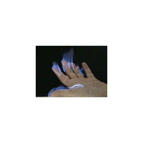 Easy Fire Project With Flames You Can Hold Liked On Polyvore