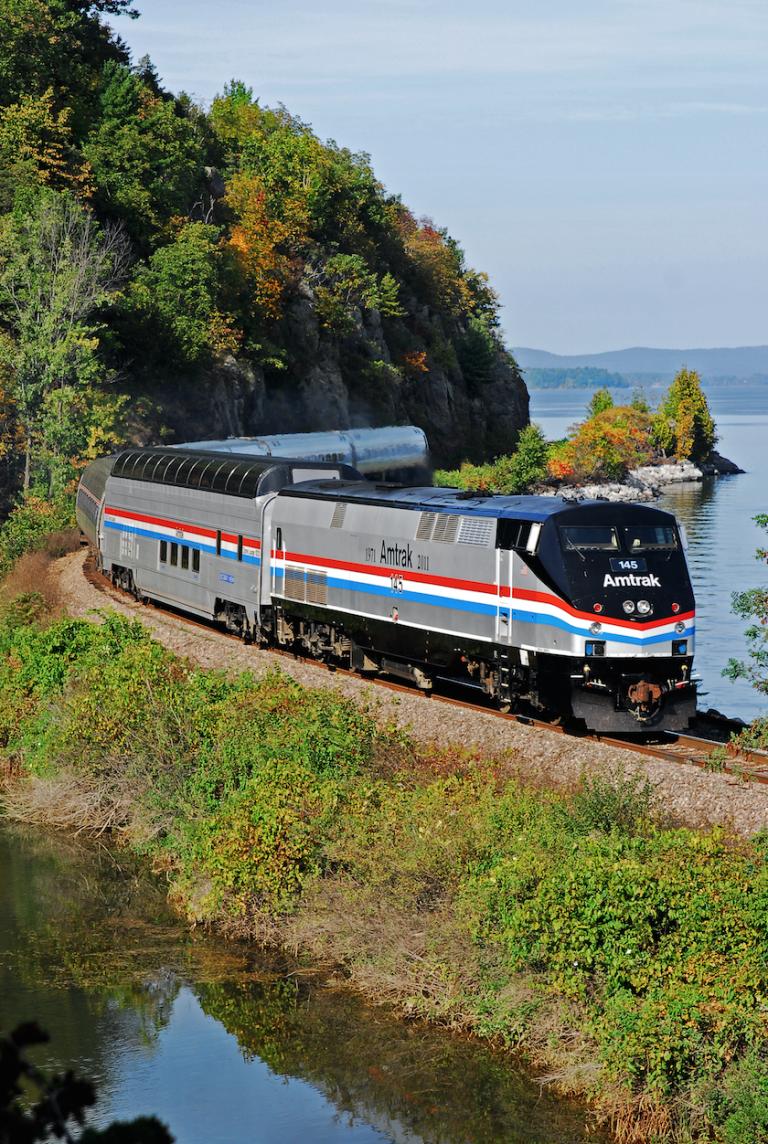 The Prettiest Fall Train Trip in the U.S. Starts at Just 53