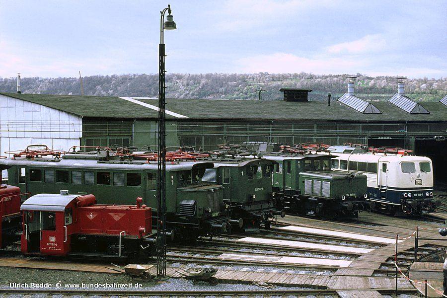 Die Bundesbahnzeit Tag der DB in Koblenz 1977 Altbau