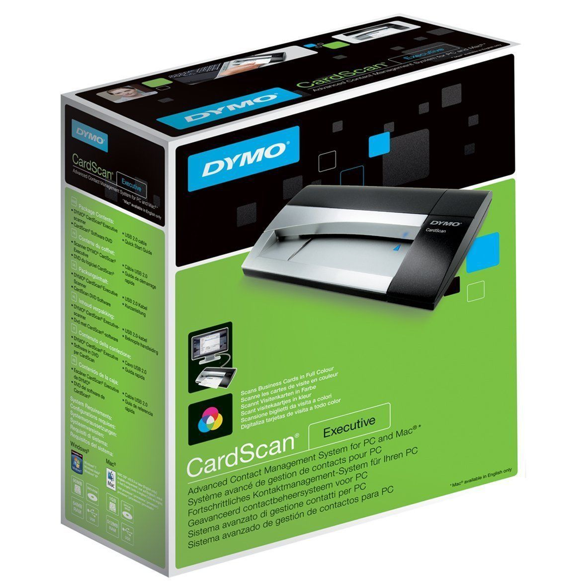 Cardscan Contact Management Scanner Executive Vers 9 Color Business Card Scanner Buy Business Cards Business Cards