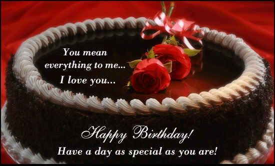Happy Birthday To You Honey Best Wishes For You To Our