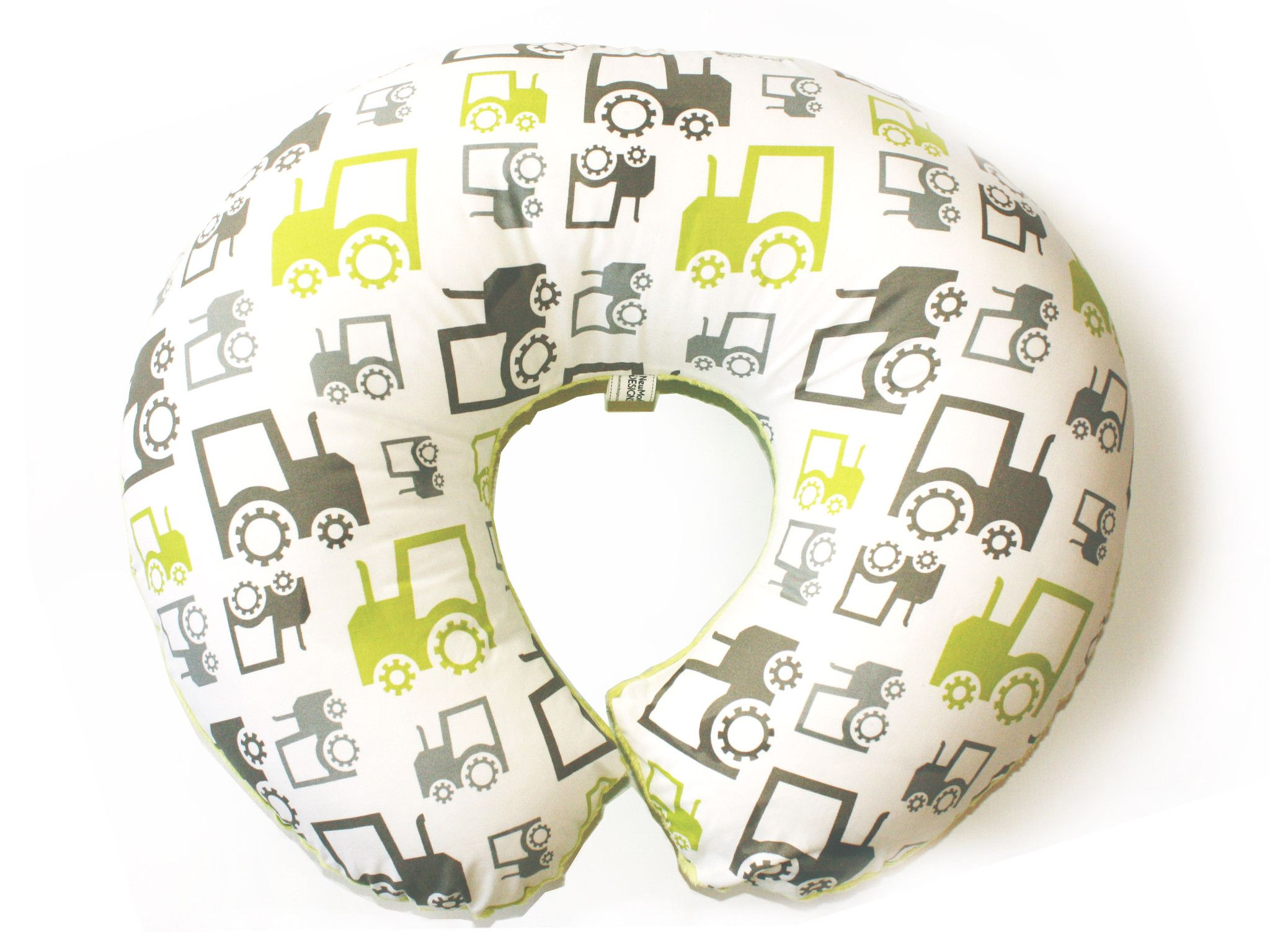Boppy Baby Chair Green Marbles Queen Anne Wing Tractors Pillow Slipcover Miller