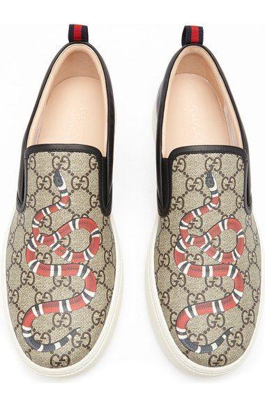 845a36269148 Main Image - Gucci  Dublin  Slip-On Sneaker (Men)