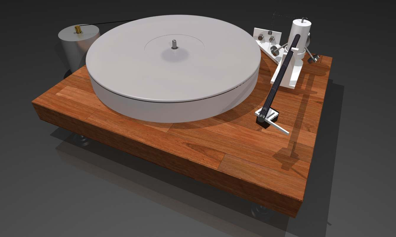 Latest A Home Made Turntable Jlb With Lp Rek Ikea