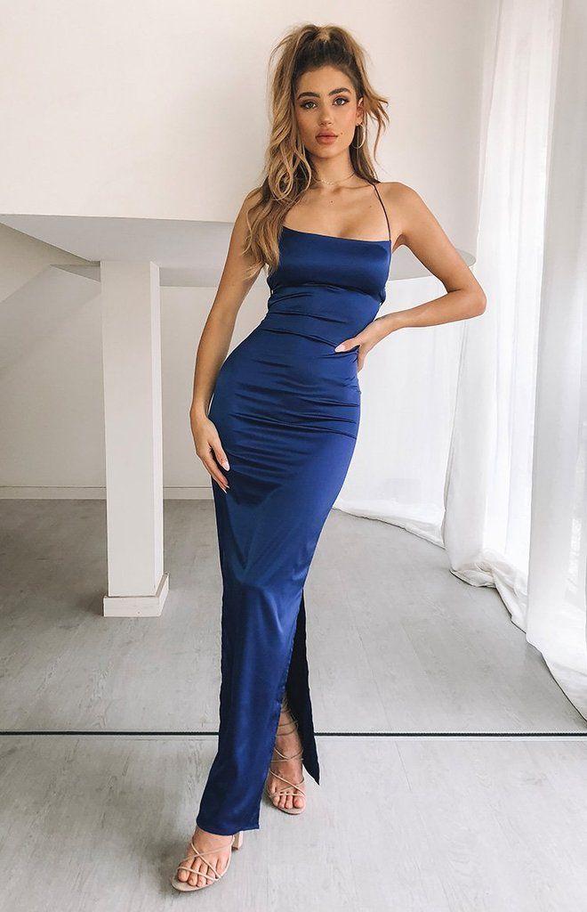 Manhattan Slip Formal Dress Midnight – Beginning Boutique ...