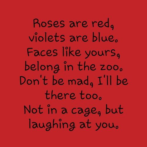 really funny poems that make you laugh