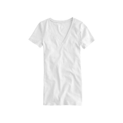 Rank & Style Top Ten Lists | Best White Tee Shirts - #Wilt Slub #Jersey Baby Hi Lo #Tee #topten #best #tees #shirts #white #fashion #style