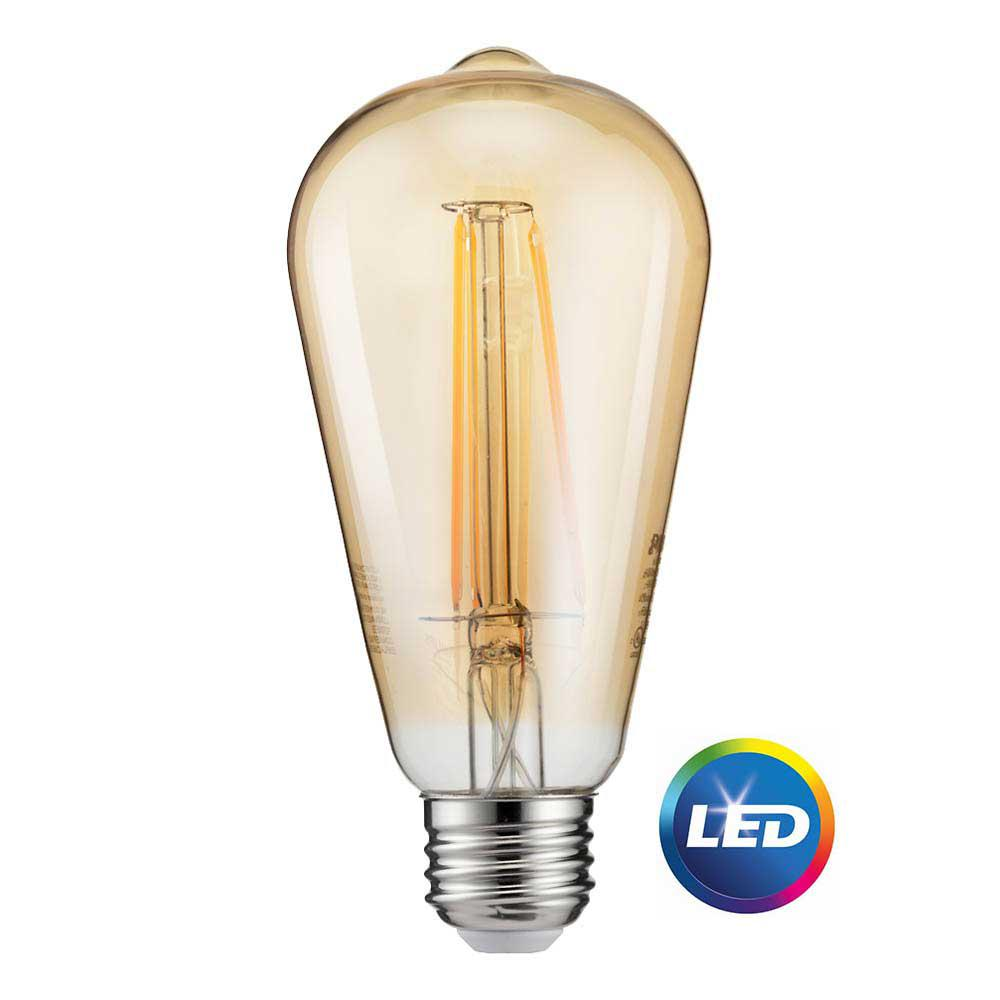 Philips 40W Equivalent Soft White ST19 Dimmable LED Vintage Light ...