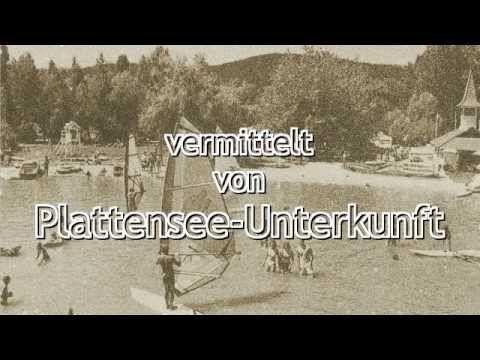 Video mit schönen Bildern von Ferienhäusern und Ansichten vom Plattensee.