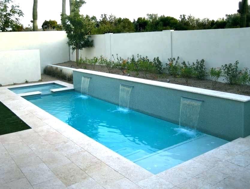 Small Rectangular Pool Spa Google