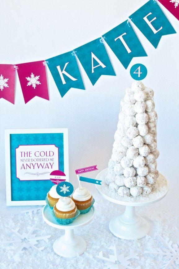 Frozen Birthday Party Ideas Magic At Home Pinterest Frozen