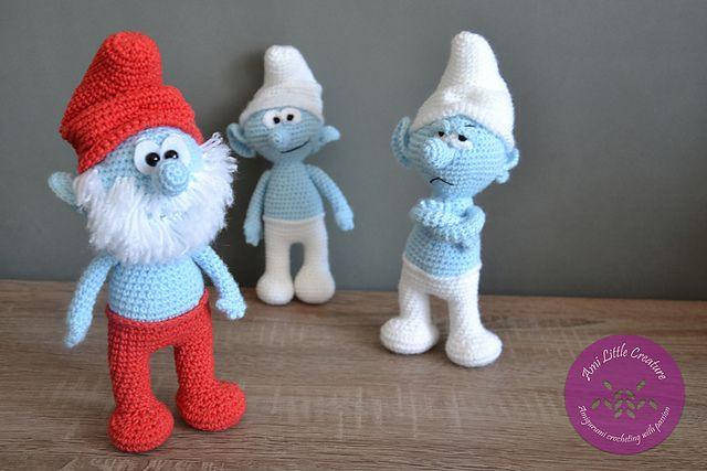 Ravelry: Amigurumi Papa Smurf pattern by Ami Little ...