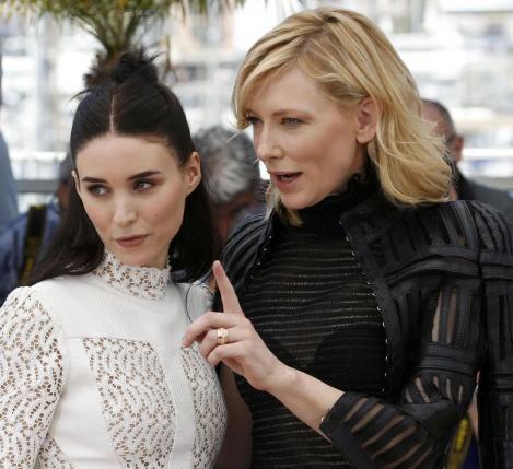 "Rooney Mara and Cate Blanchett in the film ""Carol"" - November 27, 2015"
