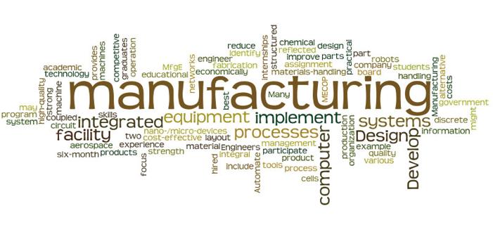 Manufacturing Engineering Undergraduate Program Mechanical