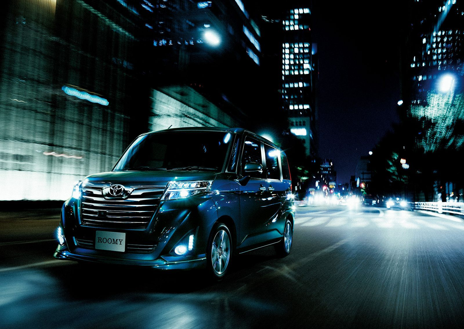 Toyota roomy and tank minivans launch in japan