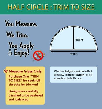 How to Measure Half Round Windows. http://www.wallpaperforwindows ...