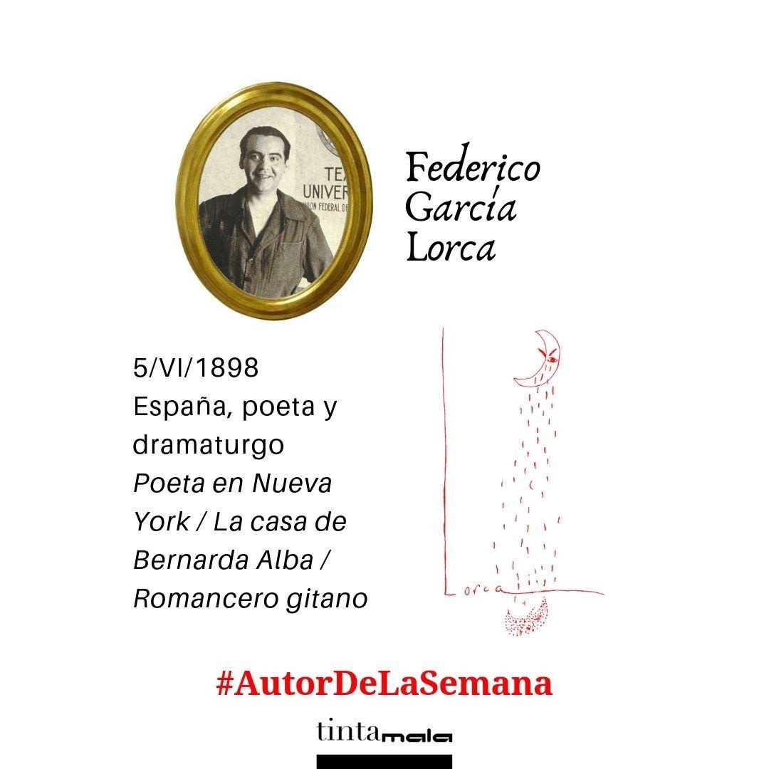 Nuestro Autordelasemana Es Federico García Lorca Nació Un 5 De Junio Sabías Que Sus Padres Tuvieron Mucha Paciencia Para Que Acabara Sus Poetas Padre Leer