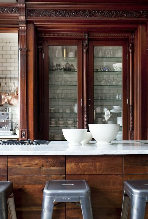 wood and tiles | Kitchens I love | Pinterest | Schöner wohnen, Küche ...