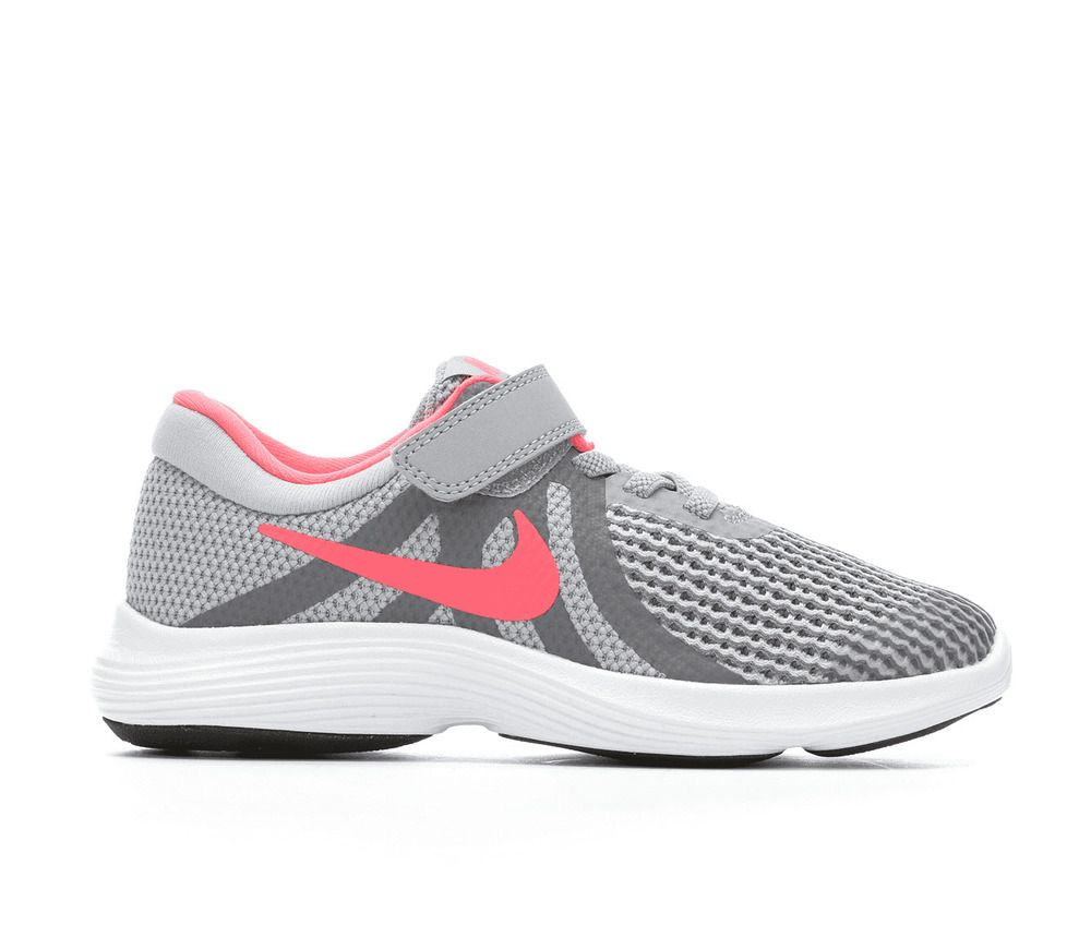 cheap for discount 70a2d 5c935 eBay  Sponsored Nike Revolution 4 (PSV) Grey Pink Girl s Running Shoes Size  13.5 Style 943307-00
