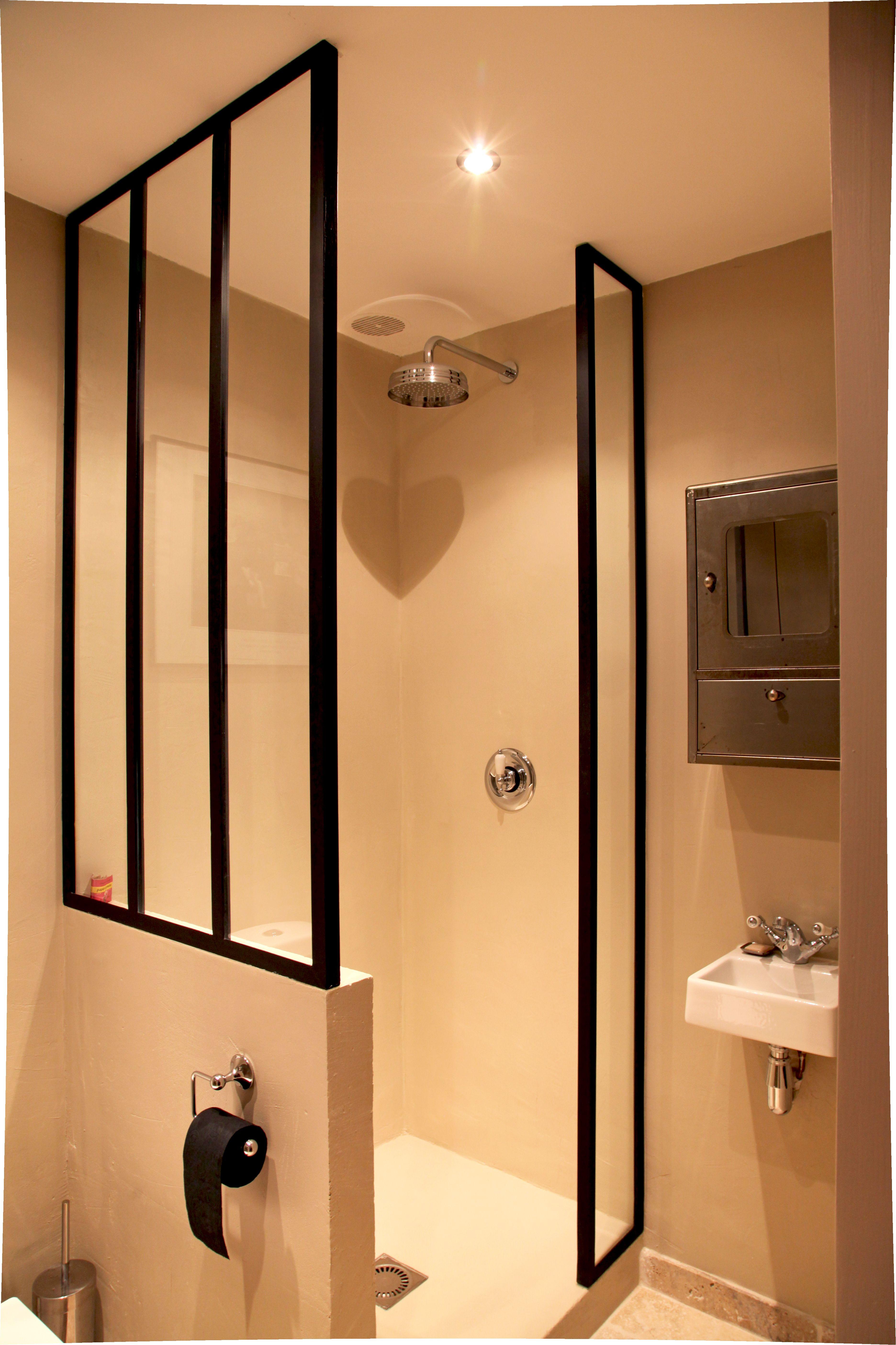 Salle De Bain Nevers ~ salle d eau avec ferronneries sur mesure salle de bains petite