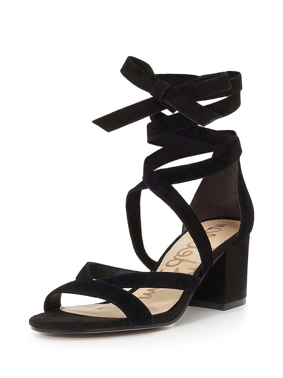 2c758b721f6 Sam Edelman Sheri Suede Block Heel Sandals