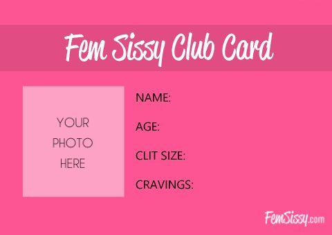 Pin On Club Card