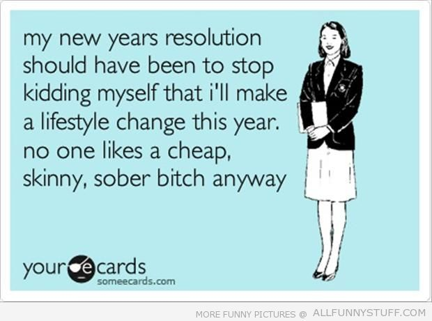 Funny new years resolutions heap skinny | Funny | Pinterest | Funny ...