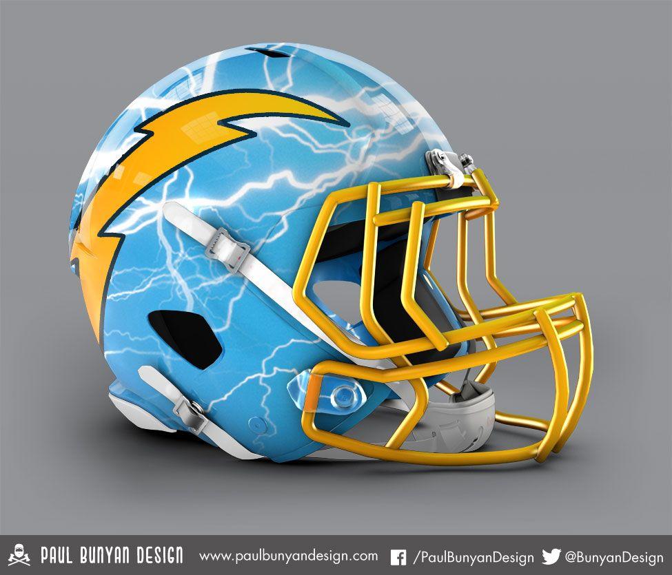 Imgur Football Helmet Design New Nfl Helmets Chargers Football