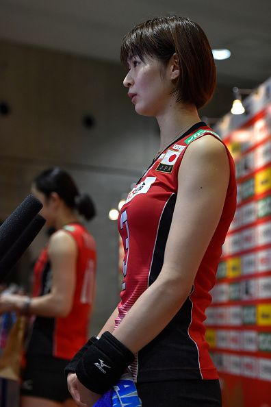 Saori Kimura of Japan looks dejected after losing the Women's World...