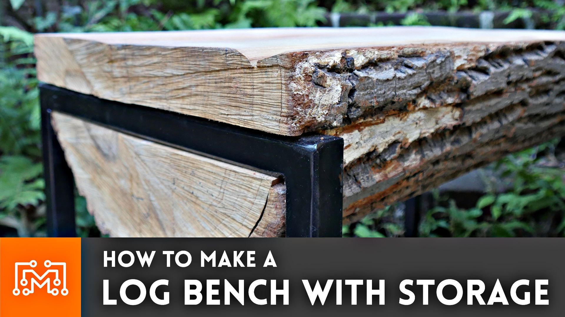 Phenomenal Check Out How I Turned This Log Into A Bench With Hidden Beatyapartments Chair Design Images Beatyapartmentscom