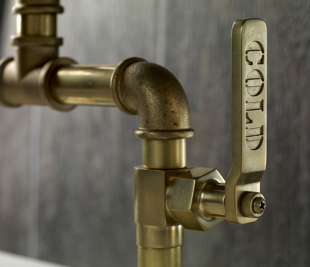 Industrial Style Faucets By Watermark To Give Your Plumbing