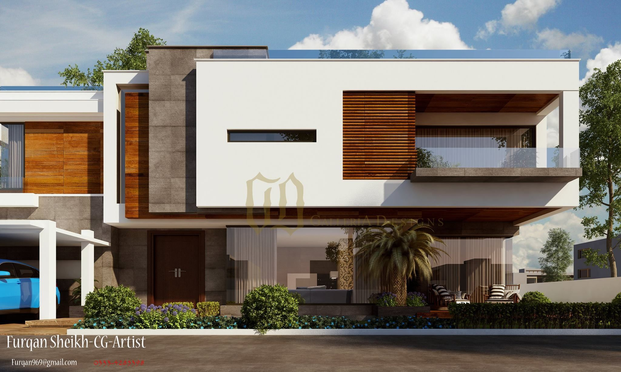 Conemporary Residence-architecture-home Designs-home