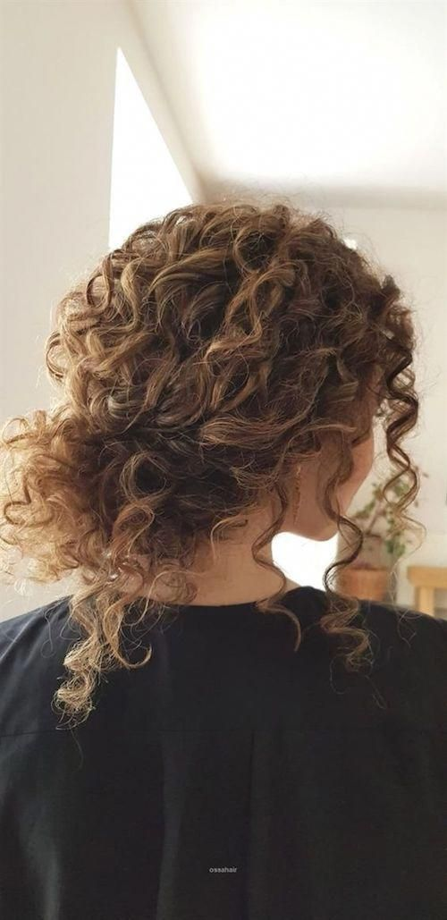 This year curly natural hair reigns supreme. Bridal curly hair updo by ossahair.... - #bridal