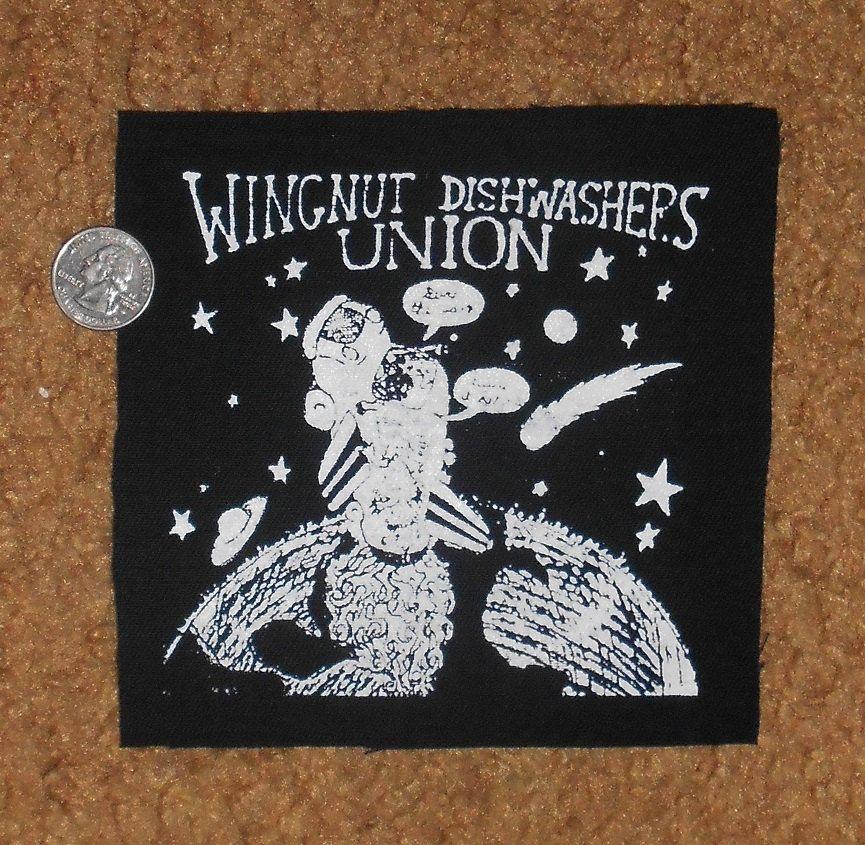 Wingnut Dishwashers Union Misprint Patch Wingnut Patches