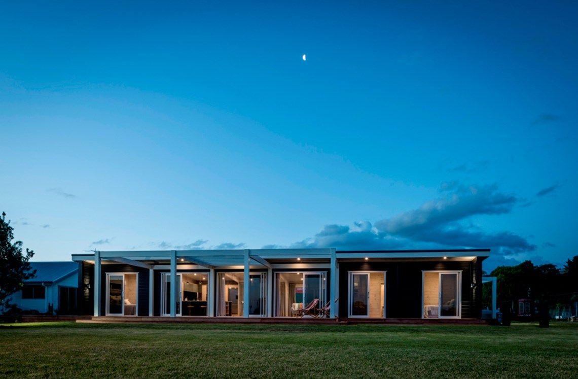 Lockwood: pavilion design house | New zealand houses ...