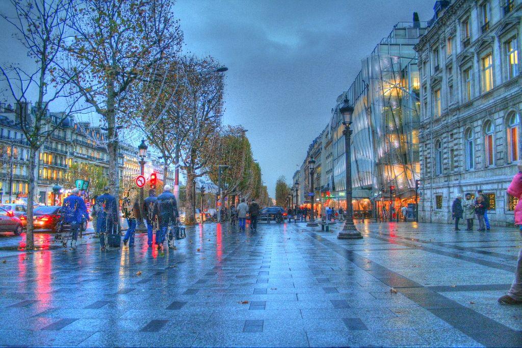 rainy day | Rainy Day City Wallpaper Paris on a rainy day ...