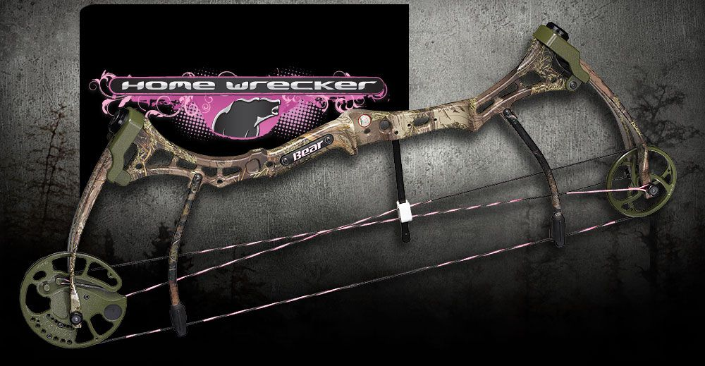 My Bear Bow.....hunting is for women too...