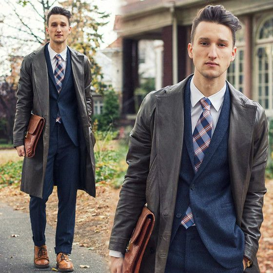 Alexander Wang Leather Topcoat