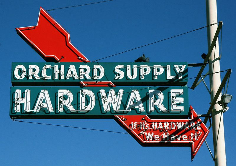 Orchard Supply Hardware In 2020 With Images Orchard Supply