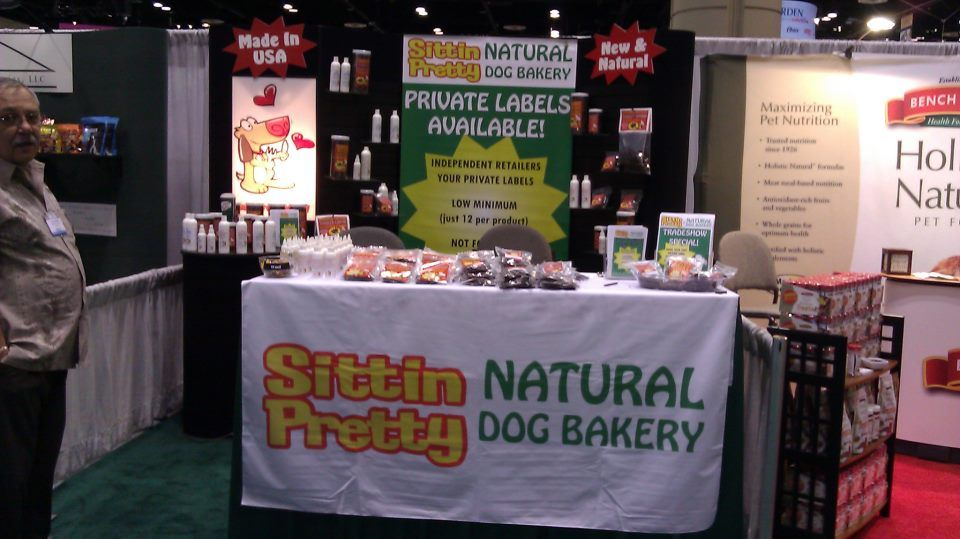 Global Pet Expo booth 3922 Sittin Pretty Pretty dogs