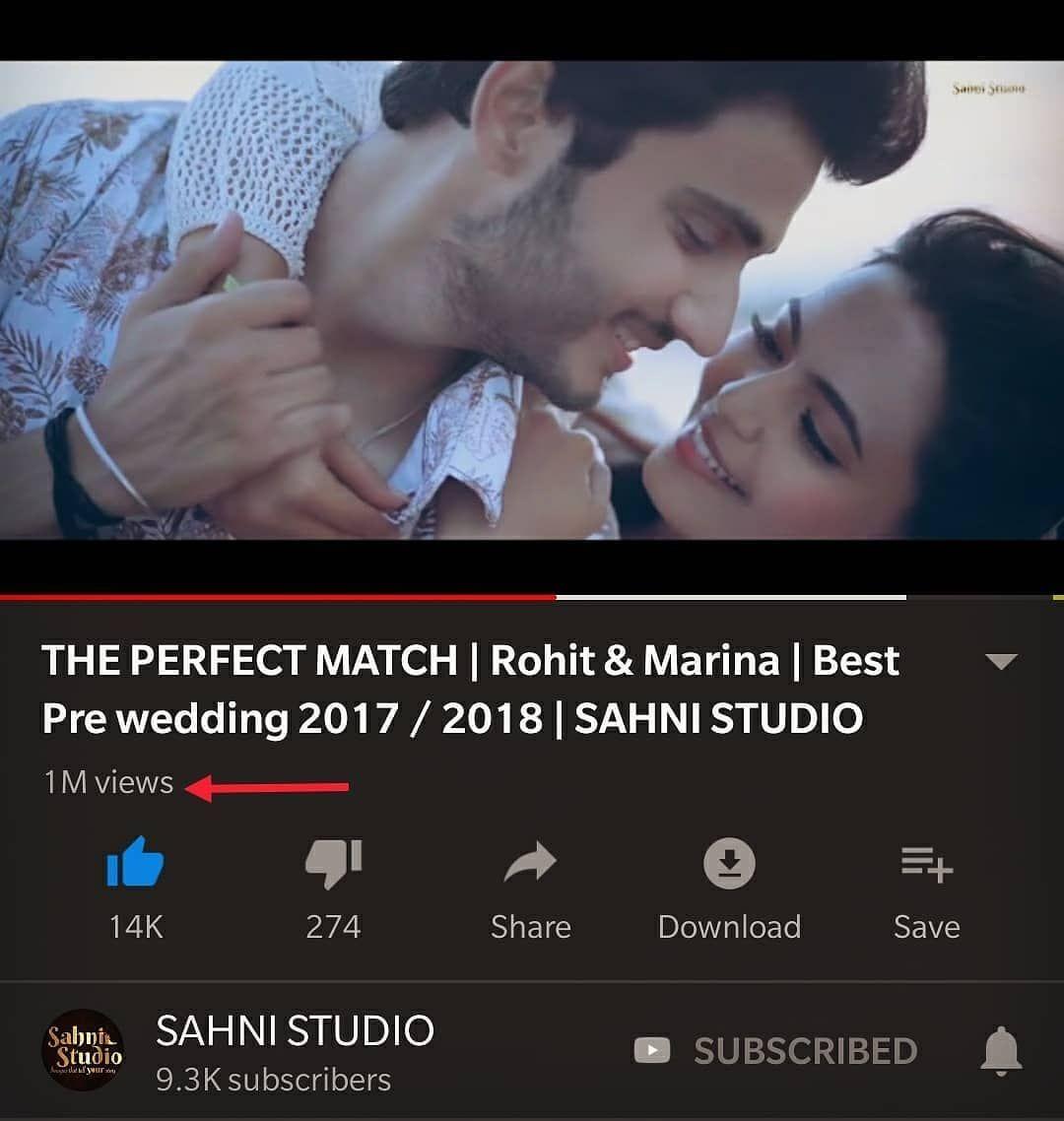 The Perfect Match Rohit Sahni25 And Marina A1203 Giving Us Such Major Goals 1millionviews Sahni Studio Captur Couple Goals Romance Couple Shoot