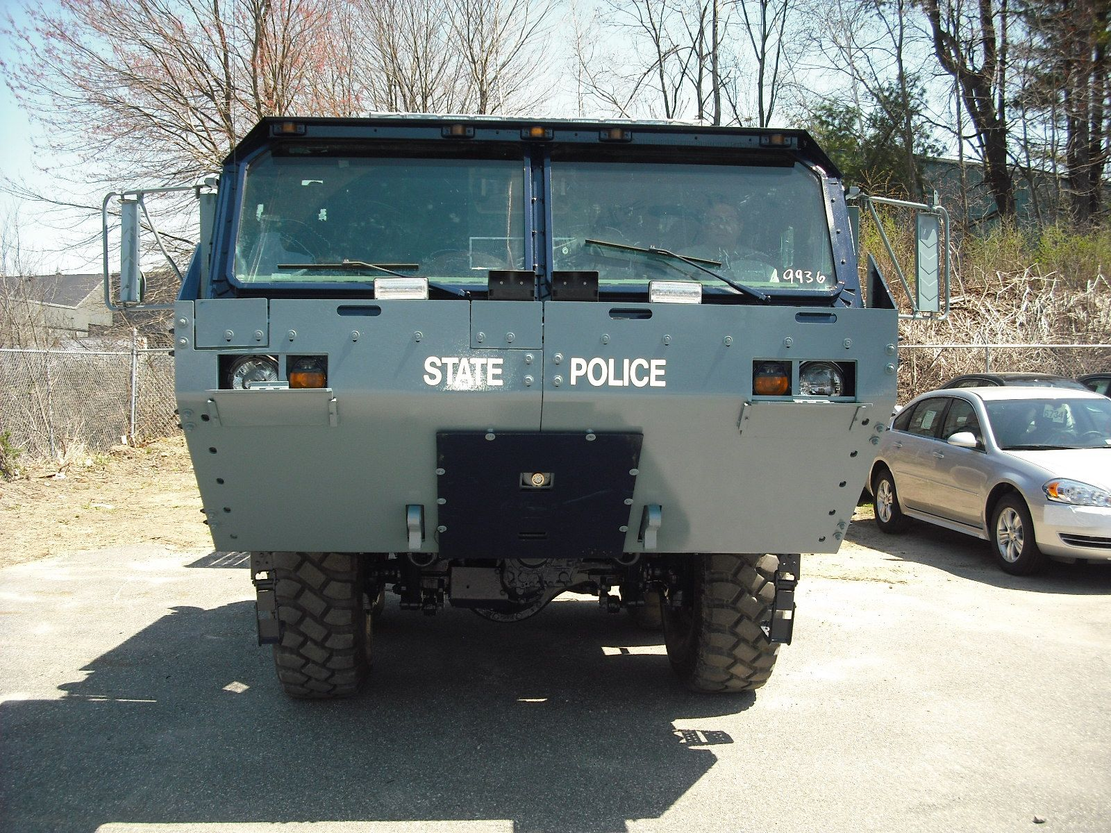 Mass State Police Flood Vehicle Up Fitted By Adamson