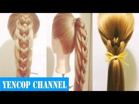 5 Peinados Faciles Y Rapidos Y Bonitos Con Trenzas (P16) Peinado