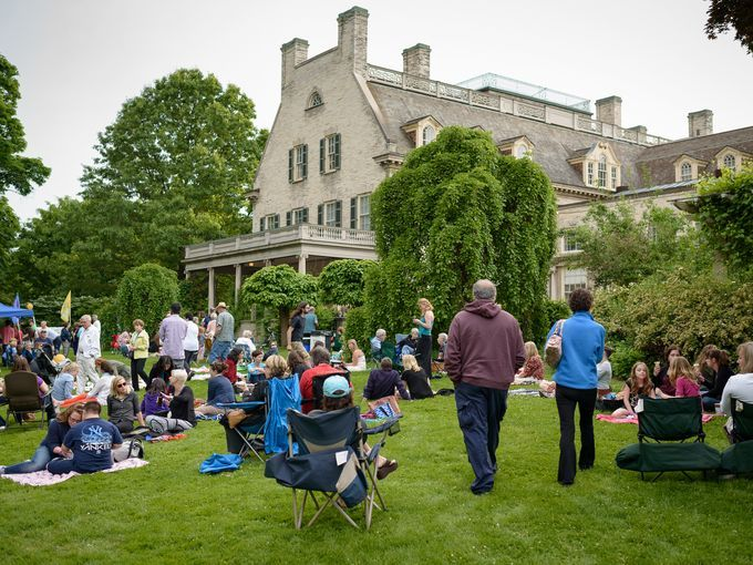 Live concerts in the Eastman Gardens. The Revelers kick off the ...