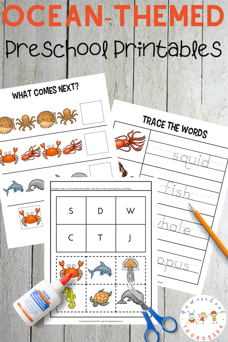 Free Printable Preschool Ocean Worksheets Free Preschool Printables Ocean Theme Preschool Summer Preschool [ 1102 x 735 Pixel ]