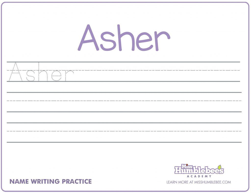 Name Handwriting Worksheets For Print Name Handwriting