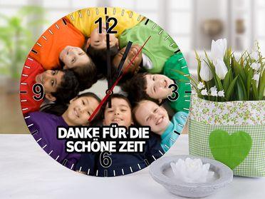 fotouhr abschiedsgeschenk kindergarten pinterest fotouhr abschiedsgeschenke und abschied. Black Bedroom Furniture Sets. Home Design Ideas