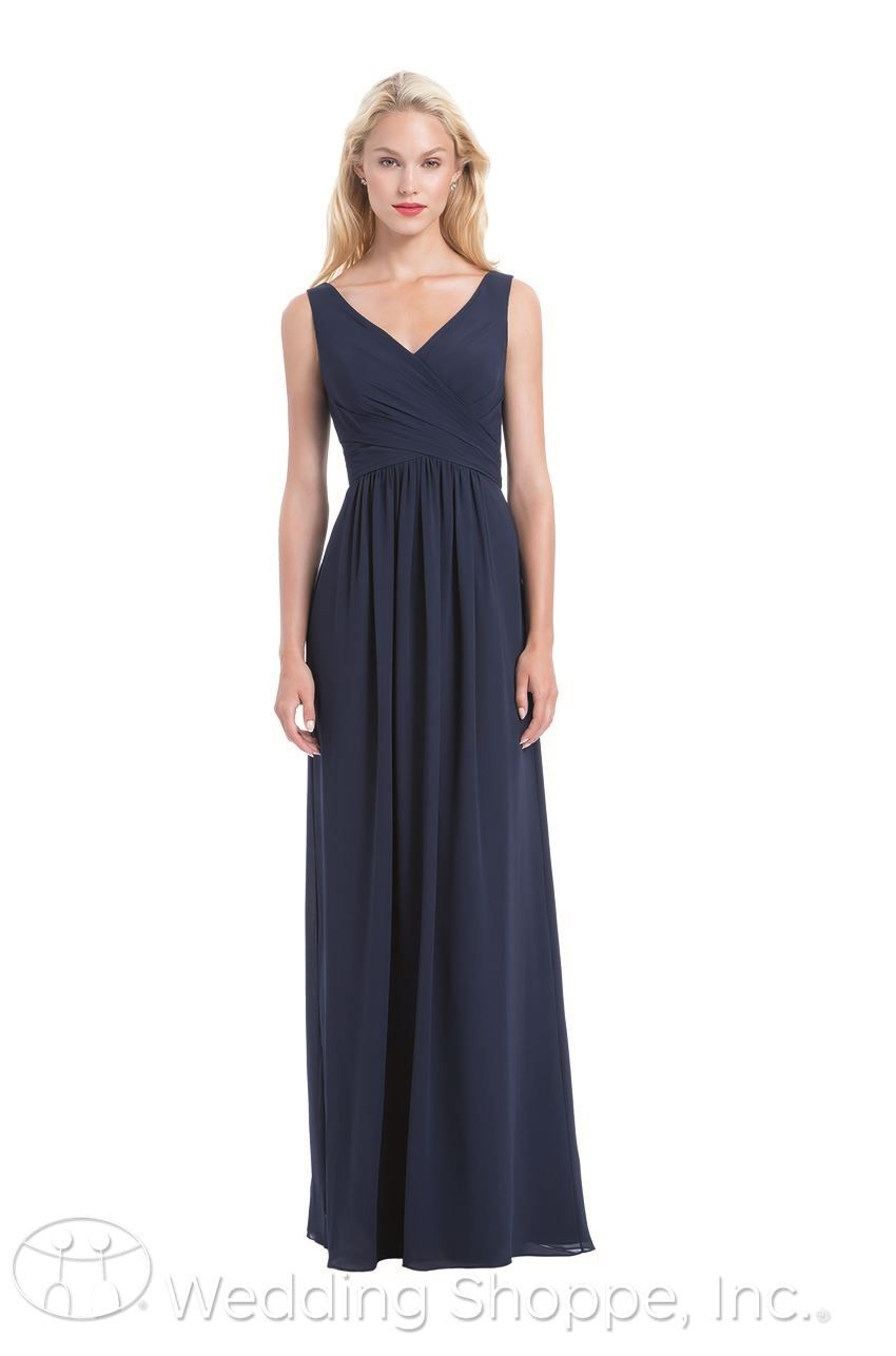 Black Tie Bridesmaid Dresses by Bill Levkoff