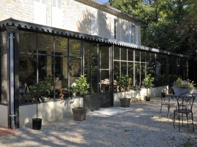 Un jardin au cœur de lu0027hiver Extensions, Verandas and Conservatories